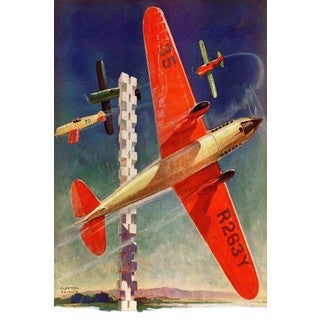 Marmont Hill - Planes OTG Painting Print on Canvas