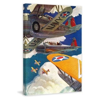 Marmont Hill - U.S. Navy Painting Print on Canvas