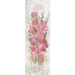 Marmont Hill - A Floral Frenzy Soft Pink I Painting Print on Canvas