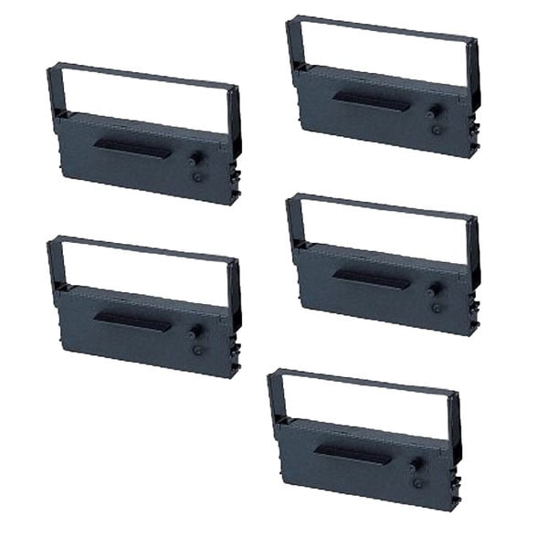 5PK Compatible IR-61BR Ribbons for Citizen ABS SA4000 Casio CE 4050 (Pack of 5)