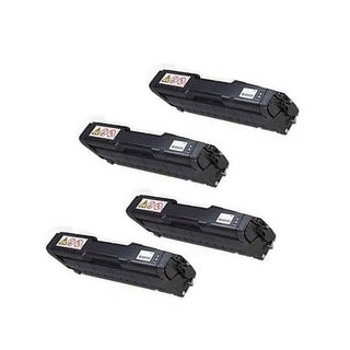 4PK 407653 Compatible Toner Cartridge for Ricoh SP C252DN SP C252SF (Pack of 4)