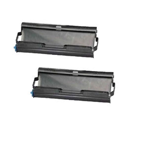 2PK Compatible PC-402RF Fax Ttr Cartridge for Brother PC-401 501 (Pack of 2)