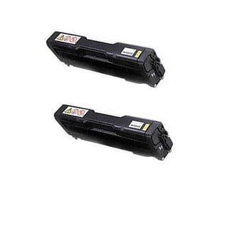 2PK 407656 Compatible Toner Cartridge for Ricoh SP C252DN SP C252SF (Pack of 2)