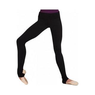 Girl's Capezio Dance Stirrup Legging in Black