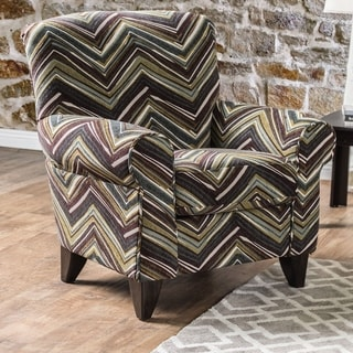 Furniture of America Ceel Contemporary Multi-color Fabric Padded Chair