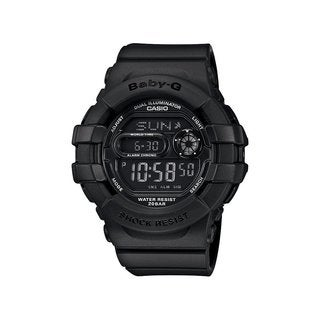 Casio Baby-G Women's Digital Black Resin Watch