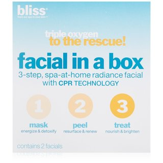 Bliss Triple Oxygen To The Rescue! Facial In A Box