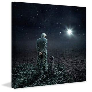 """Marmont Hill - """"Wish Upon a Star"""" Painting Print on Canvas"""