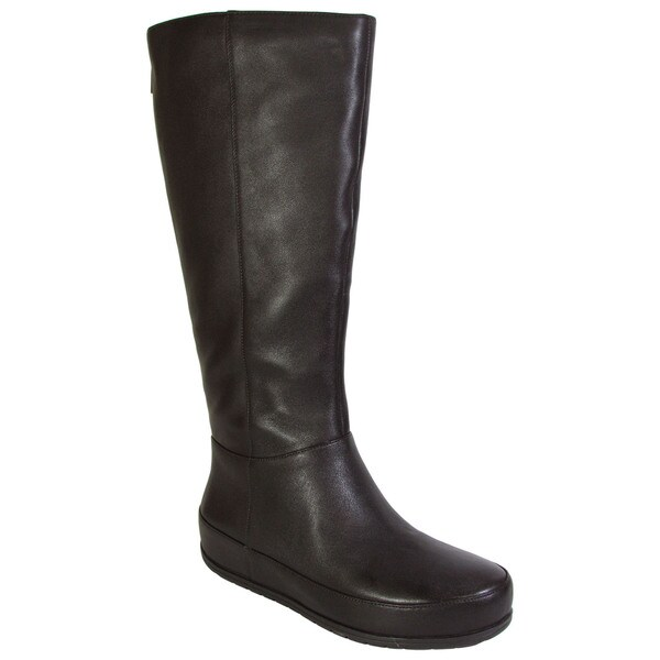 fitflop womens dueboot twisted zip knee high boots free