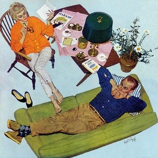 Marmont Hill - Husbands Better Tell by Kurt Ard Painting Print on Canvas
