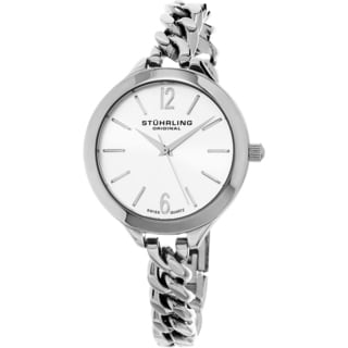 Stuhrling Original Women's Vogue Swiss Quartz Stainless Steel Bracelet Watch