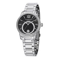 Stuhrling Original Women's Symphony Crystal Stainless Steel Bracelet Watch