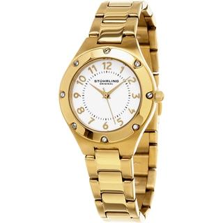 Stuhrling Original Women's Classique Quartz Gold Tone Bracelet Watch