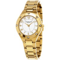 Stuhrling Original Women's Classique Quartz Gold Tone Bracelet Watch