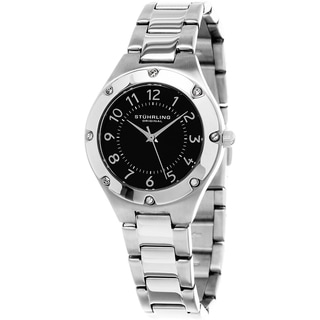Stuhrling Original Women's Classique Quartz Stainless Steel Bracelet Watch