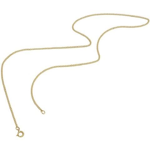 Pori Genuine Yellow Gold Overlay Cuban Chain Necklace