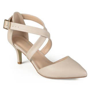 Journee Collection Women's 'Riva' Pointed Toe Matte Pumps|https://ak1.ostkcdn.com/images/products/11079395/P18087645.jpg?impolicy=medium