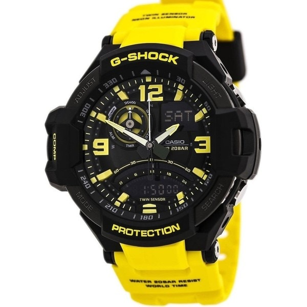 b3f5254c6 Shop Casio G-Shock Master of Gravity Analog-Digital Men's Watch ...
