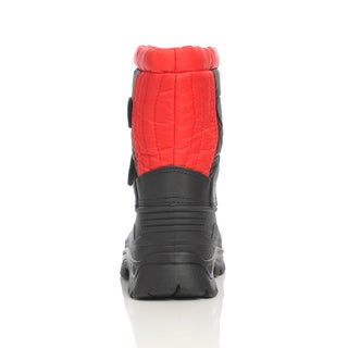 Unsensored Kid's Hook-and-Loop Snow Boot