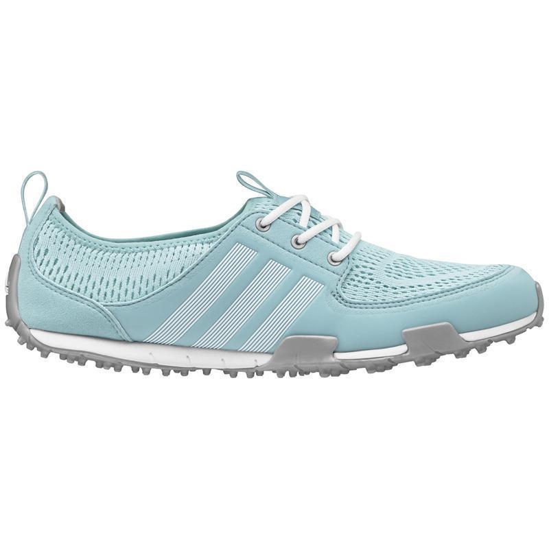 Adidas Women's Climacool Ballerina II Clear Aqua/ White/ Silver Golf Shoes