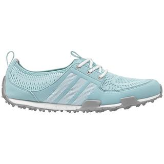 Adidas Women's Climacool Ballerina II Clear Aqua/ White/ Silver Golf Shoes