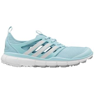 Adidas Women's Climacool II Clear Aqua/ White/ Silver Golf Shoes (As Is Item)
