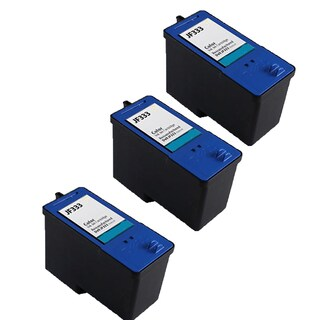 3 Pack Dell JF333 Series 6 PG324 Compatible Ink Cartridge For Dell Inkjet 725 810 ( Pack of 3 )