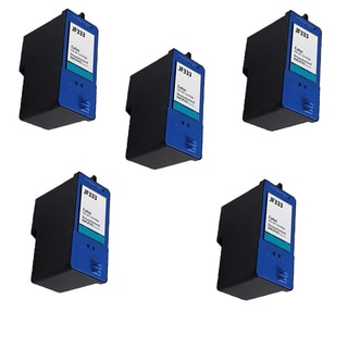 5 Pack Dell JF333 Series 6 PG324 Compatible Ink Cartridge For Dell Inkjet 725 810 ( Pack of 5 )