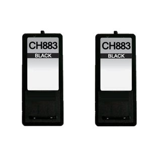 2 Pack Dell CH883 Series 7 GR274 Compatible Ink Cartridge For Dell Inkjet A966 A968 A968W ( Pack of 2 )