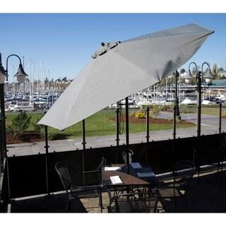 9-foot Premium Slate Grey Patio Umbrella