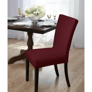 Subway Knit Jacquard Dining Room Chair Cover