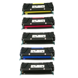 1Set + 1BK 39V2446 39V2447 39V2448 39V2449 Compatible Toner Cartridge For IBM InfoPrint Color 1834 ( Pack of 5 )