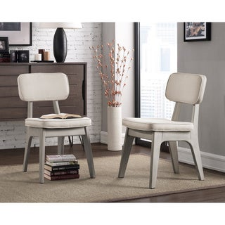 Spectrum Natural Linen Dining Chair (Set of 2)