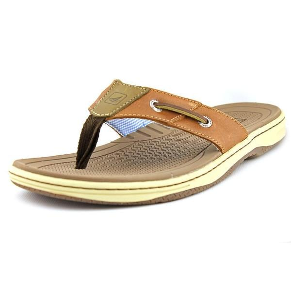 72cde8660692 Shop Sperry Top Sider Men s  Baitfish Thong  Full-Grain Leather ...