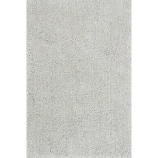 Carlisle Hand-tufted Grey Shag Rug (9'3 x 13')