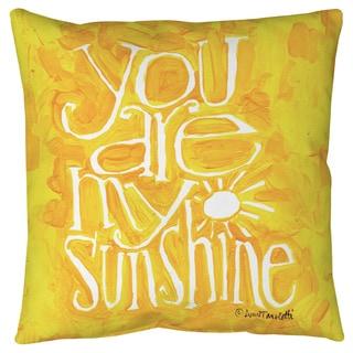 Thumbprintz You are my Sunshine Floor Pillow