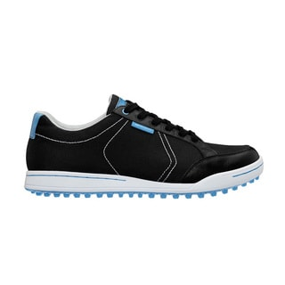 Ashworth Men's Cardiff Mesh Black/ Blue Golf Shoes