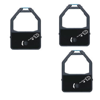 3PK Compatible KX-P155 Ribbons For Panasonic KX-P1524 1624 2624 3624 ( Pack of 3 )