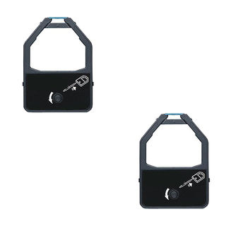 2PK Compatible KX-P155 Ribbons For Panasonic KX-P1524 1624 2624 3624 ( Pack of 2 )
