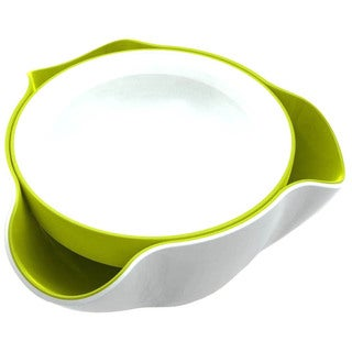 Joseph Joseph White and Green Double Dish