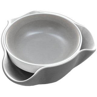 Joseph Joseph Double Dish, Gray & White