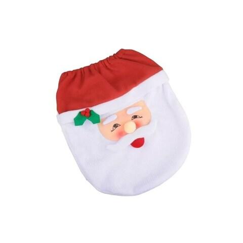 Santa Toilet Seat Cover & Rug 3 Piece Set
