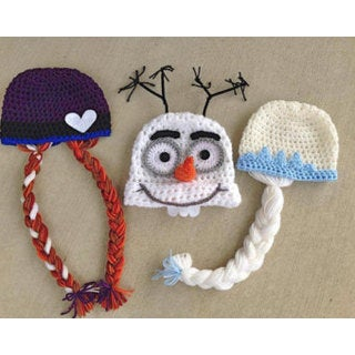 Hand-made Knit Polyester Kid's Character Hat (2 options available)