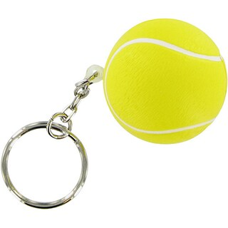 Stress Foam Ball - Sports Ball Keychain (Option: Tennis Ball)