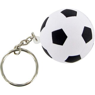 Stress Foam Ball - Sports Ball Keychain (Option: Soccer Ball)