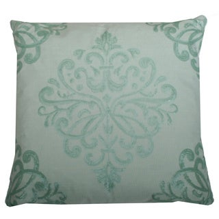 Thro by Marlo Lorenz Quinn Sequin Trellis Feather Filled 20-inch Pillow