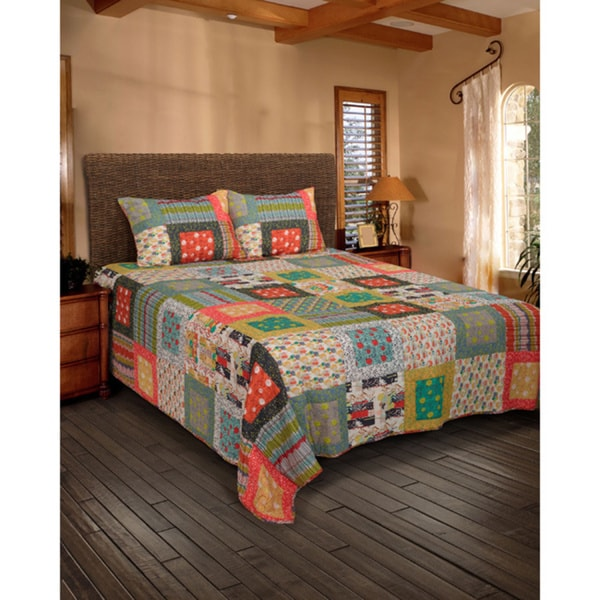 Rizzy Home Felicity Charleston Farmhouse Quilt