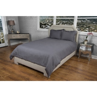 Rizzy Home Covington Charcoal Duvet Cover