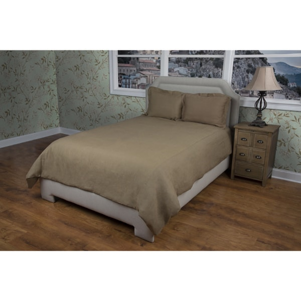 Rizzy Home Covington Khaki Duvet Cover