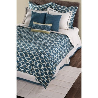 Rizzy Home Azuela 9/ 10-piece Duvet Cover
